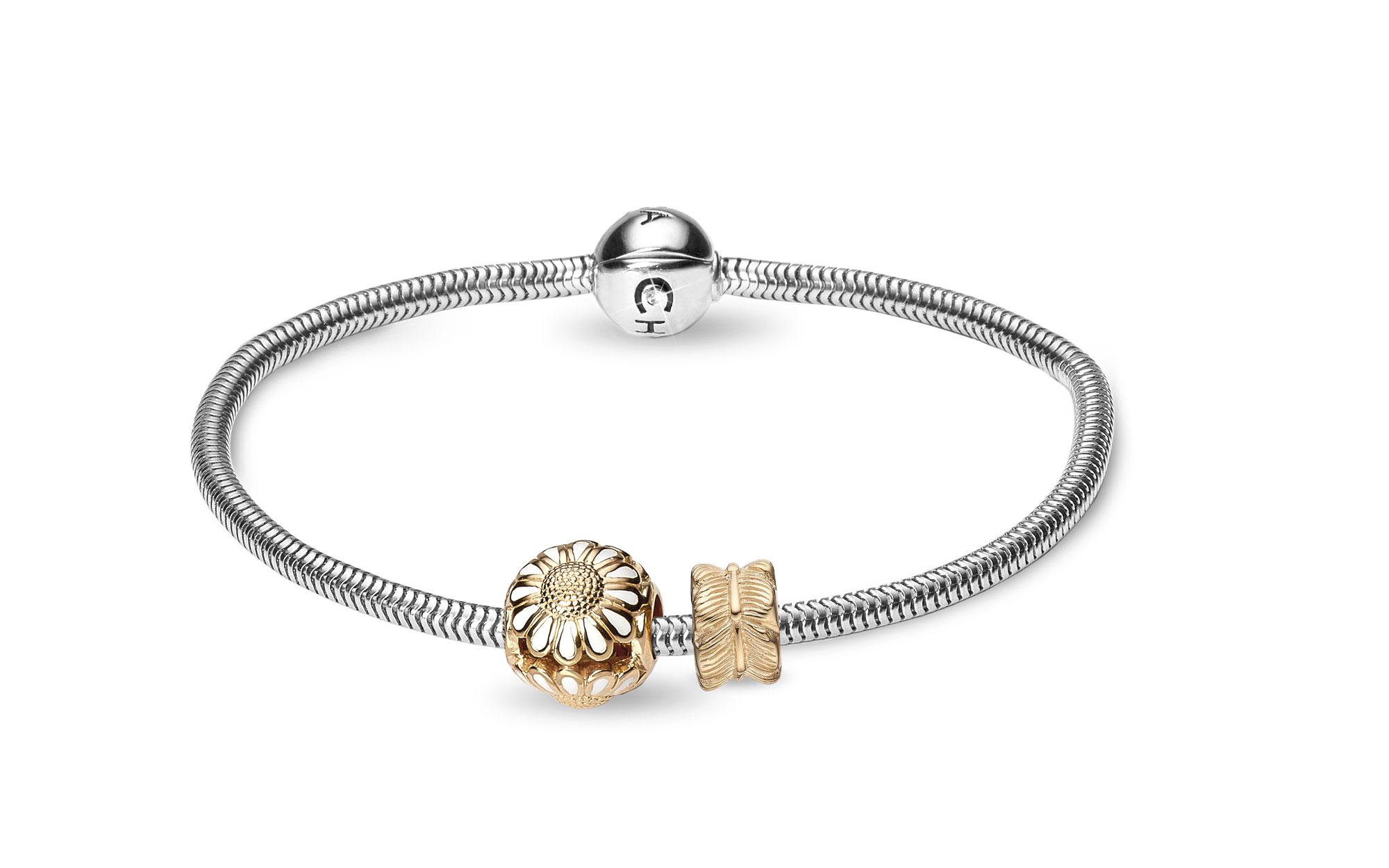 Image of CHRISTINA Silver Bracelet Kampagne - 615-G 17 centimeter