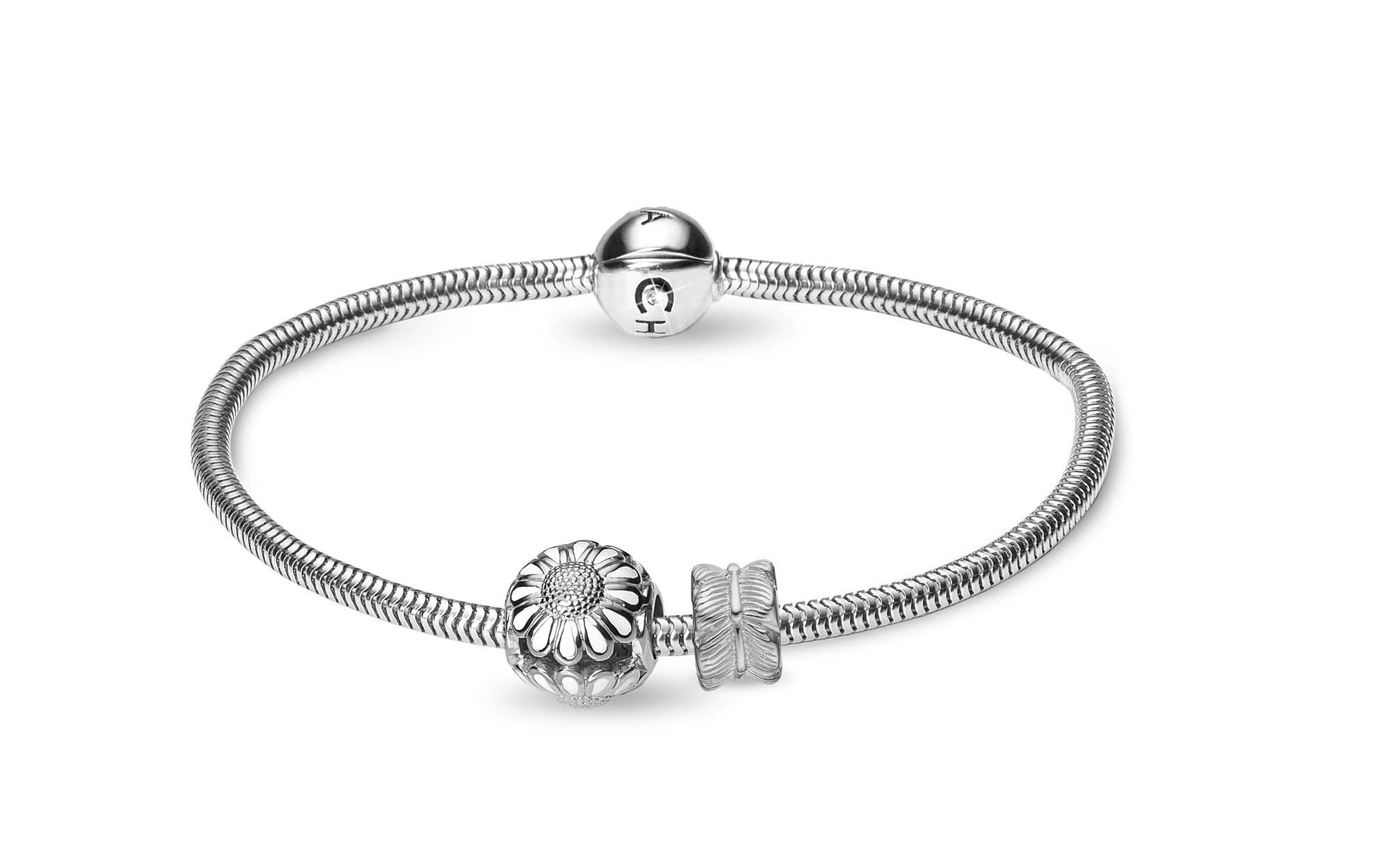 Image of CHRISTINA Silver Bracelet Kampagne - 615-S 16 centimeter