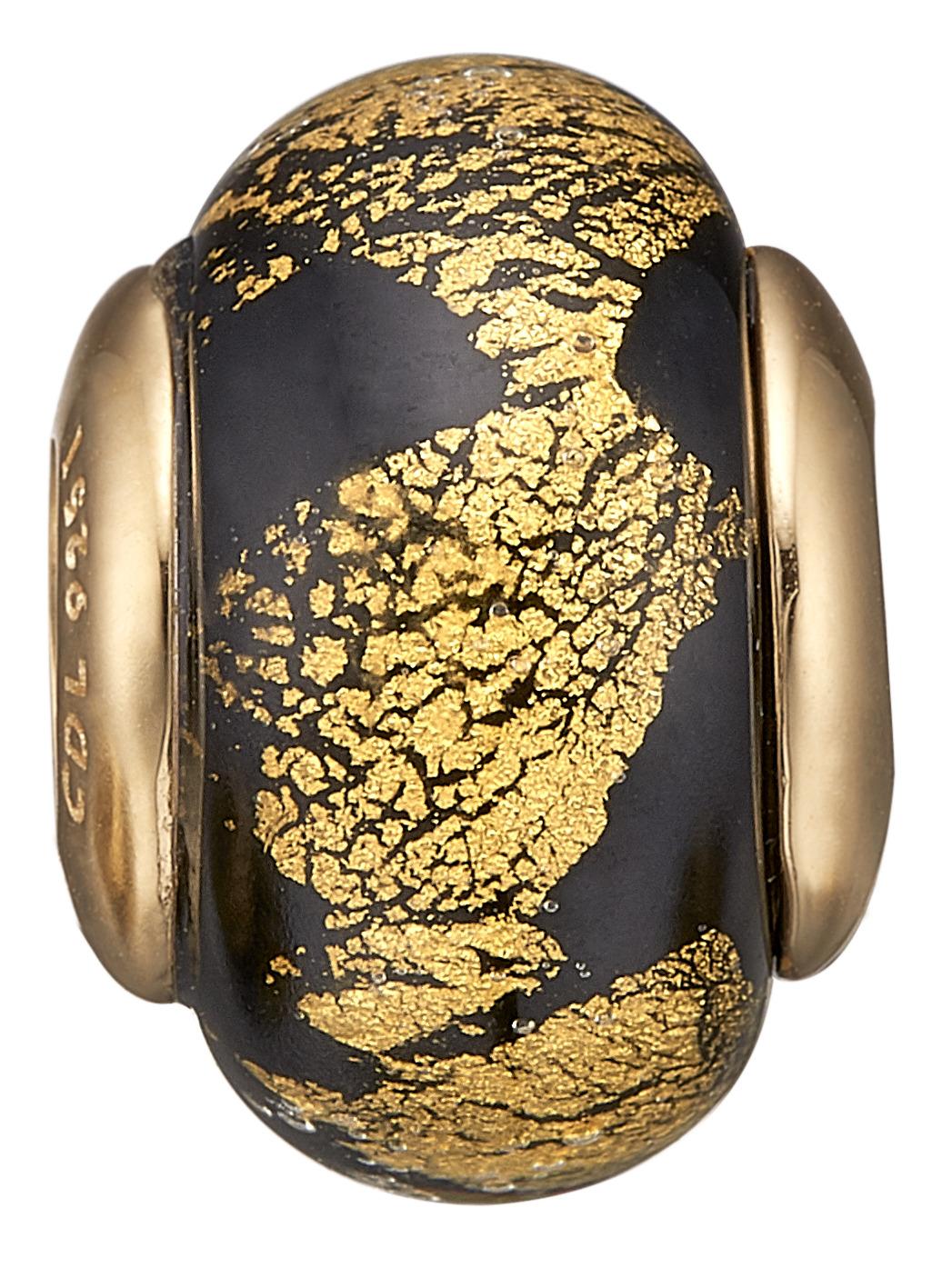 christina watches Christina forgyldt golden black globe - 630-g156 fra brodersen + kobborg