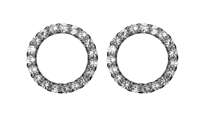 Image of   Christina Topaz sparkling circle - 671-B43