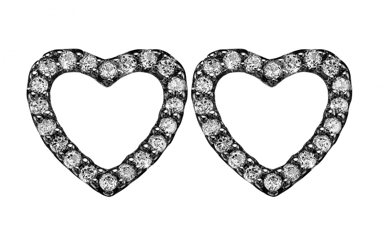 Image of   CHRISTINA Topaz sparkling hearts - 671-B46