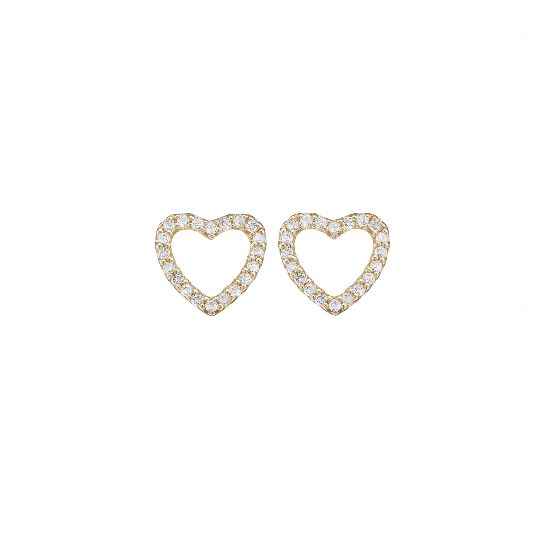 Image of   Christina Topaz sparkling hearts - 671-G46