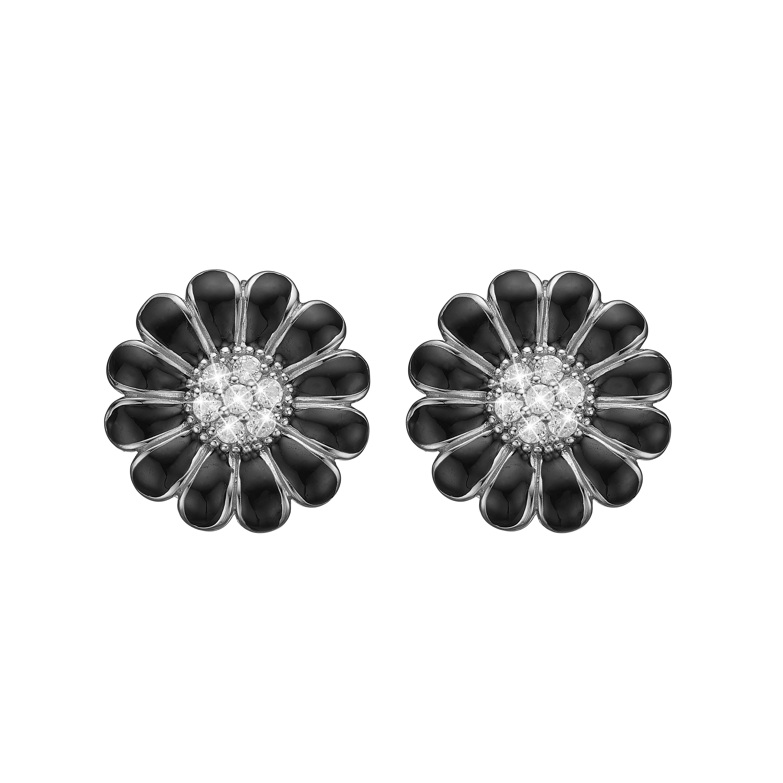 christina watches – Christina black marguerite 12 mm - 671-s39black på brodersen + kobborg