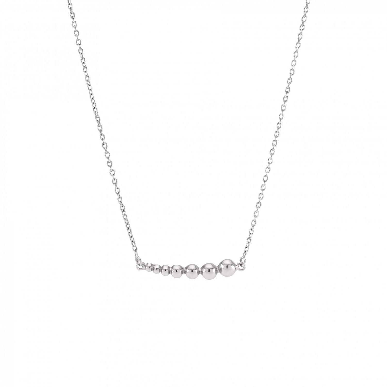 Image of   Sølv vedhæng med kæde Beads - 825 723
