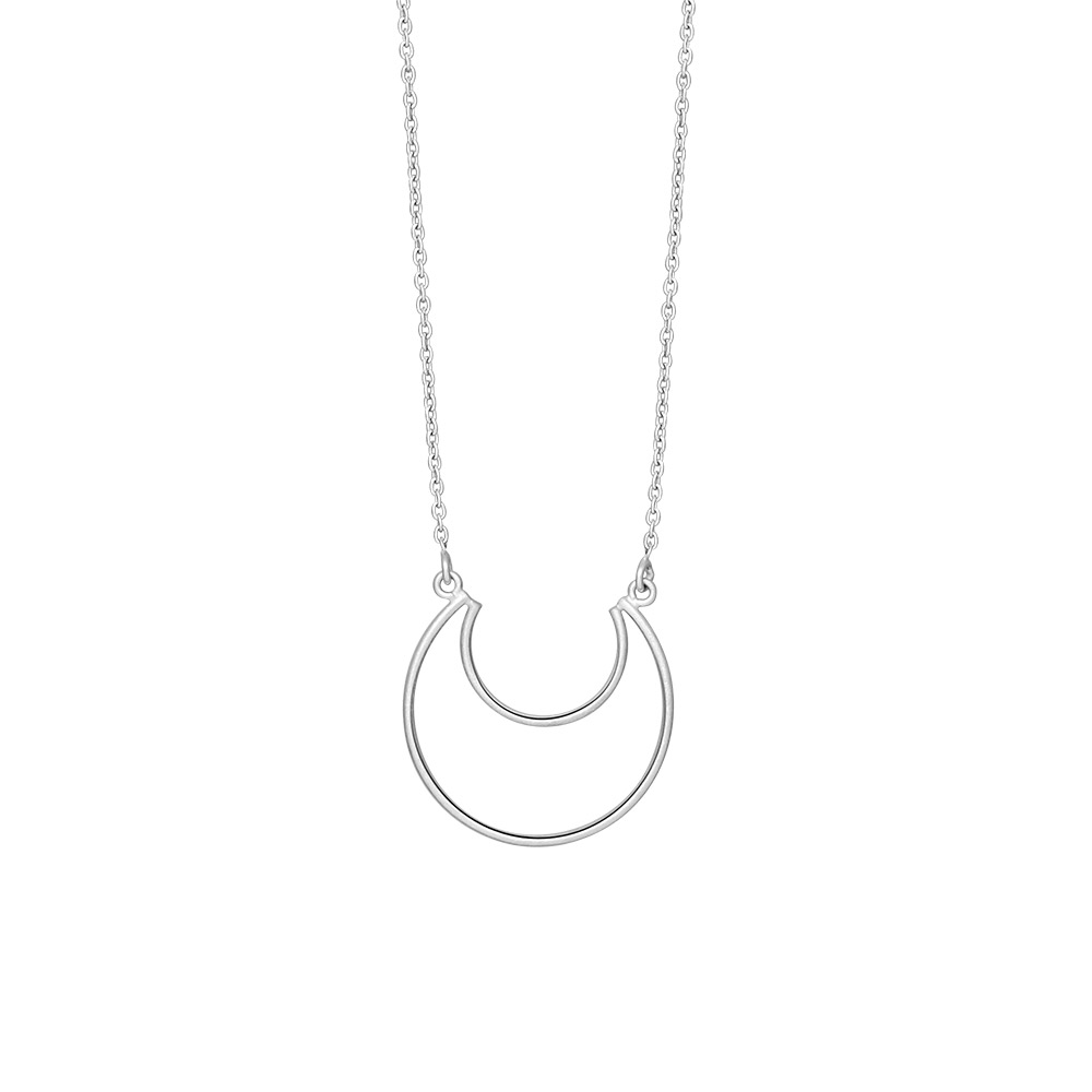 Image of   Sølv vedhæng m. kæde, Moon - 825 749