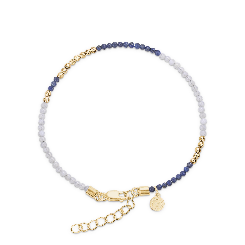 Mads z lapis, blå agat sølv hæmatit armbånd - 9156064 fra mads ziegler på brodersen + kobborg