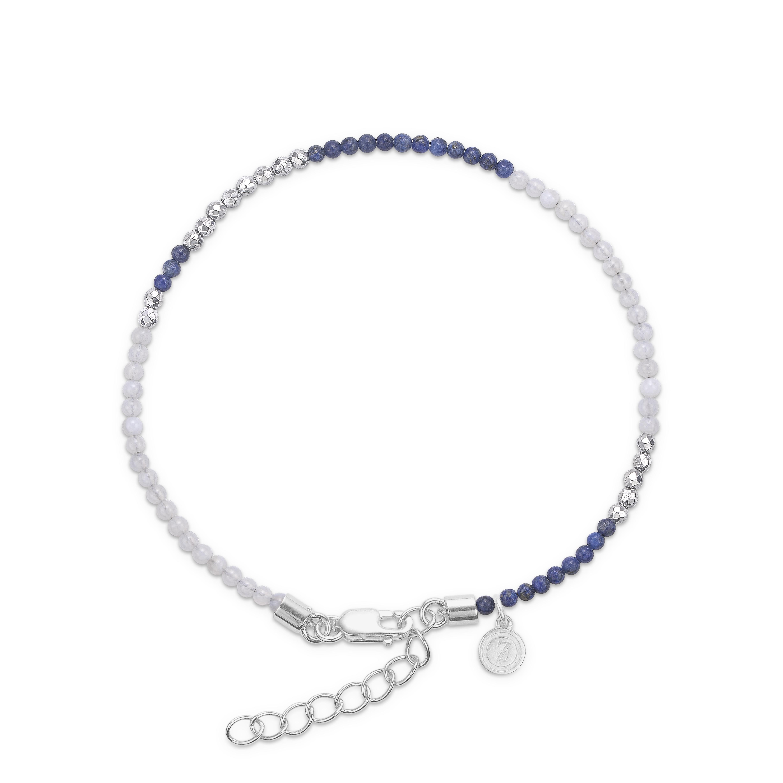 mads ziegler Mads z forg. armbånd med lapis og blå agat - 9256064 fra brodersen + kobborg