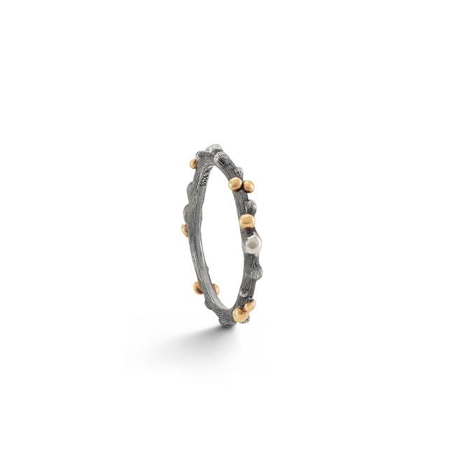 Image of   Ole Lynggaard Nature ring sølv - A2691-302 Størrelse 54