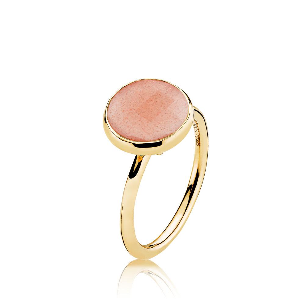 izabel camille Izabel camille prima donna forg. ring - a4095gs-peach-moonstone størrelse 56 på brodersen + kobborg