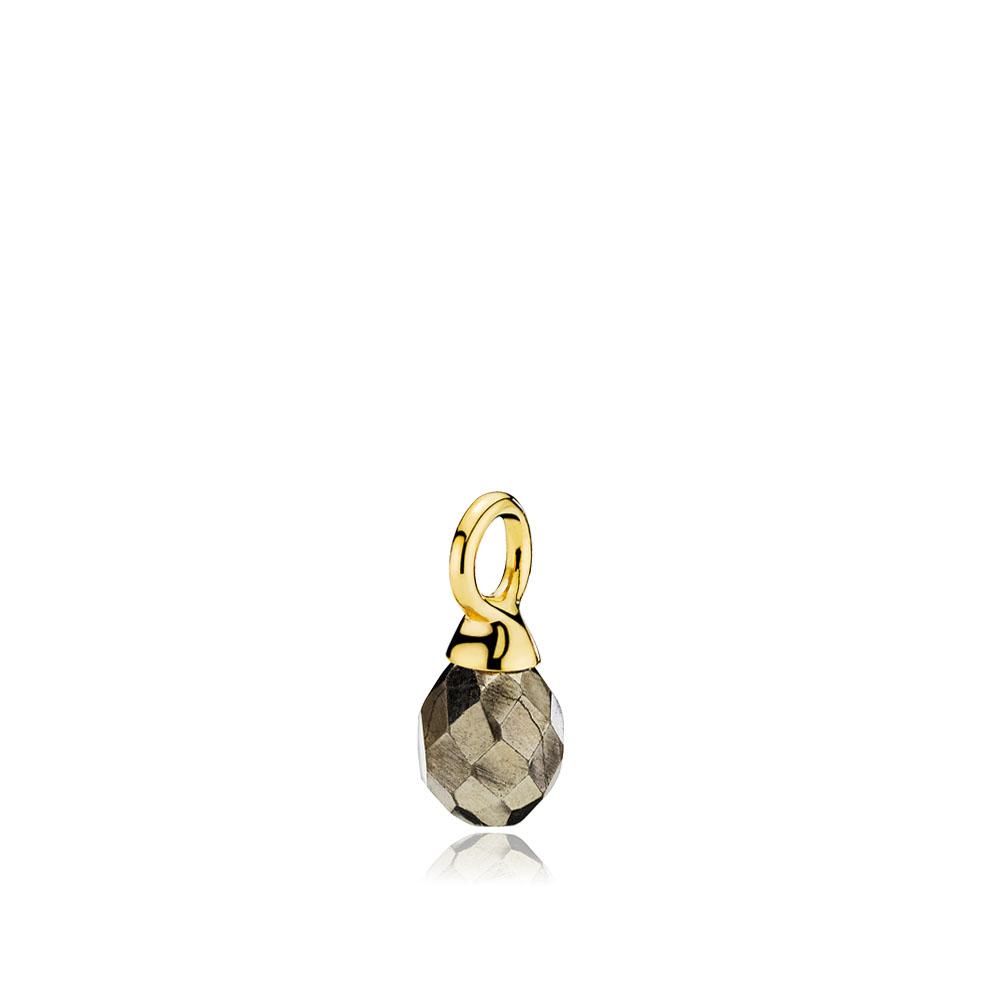 Izabel camille wonder drop vedhæng pyrit - a5224gs-pyrite fra izabel camille fra brodersen + kobborg