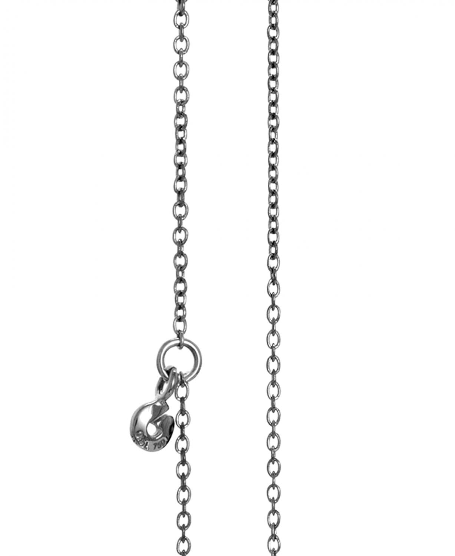Billede af Ole Lynggaard oxideret sølv anker kæde - C0071-303