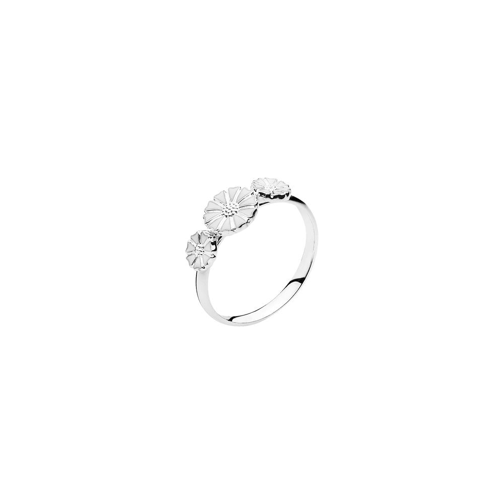 LUND Marguerit Ring i sølv 907075-3-H Sølv 50