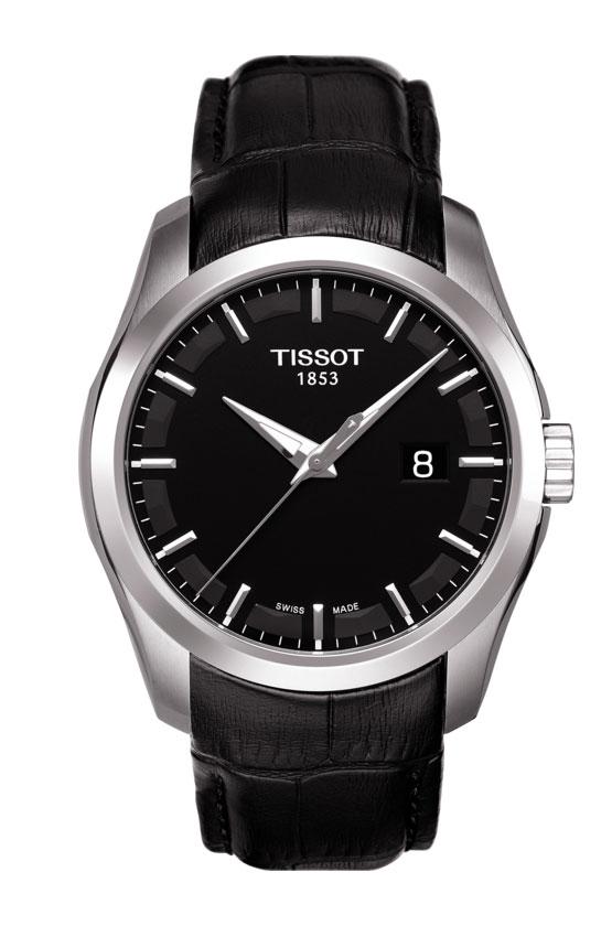 tissot ure Tissot couturier - t0354101605100 fra brodersen + kobborg