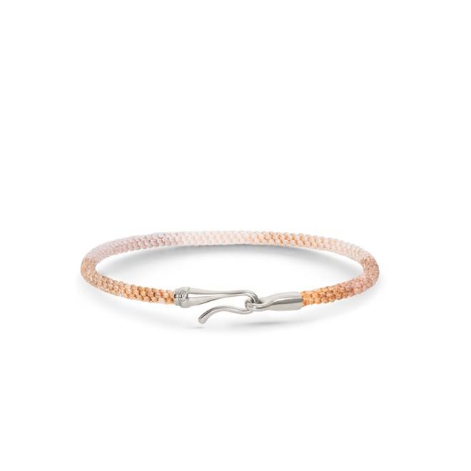 Image of   Ole Lynggaard Life armbånd - golden sølv - A3040-303 16 centimeter
