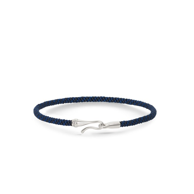 Image of   Ole Lynggaard Life armbånd - midnight - A3040-306 17 centimeter