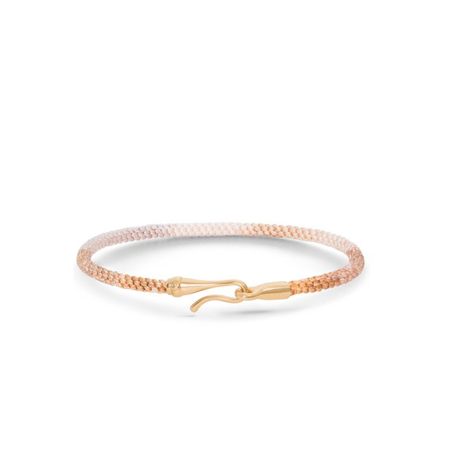Image of   Ole Lynggaard Life armbånd - golden guld - A3040-403 18 centimeter