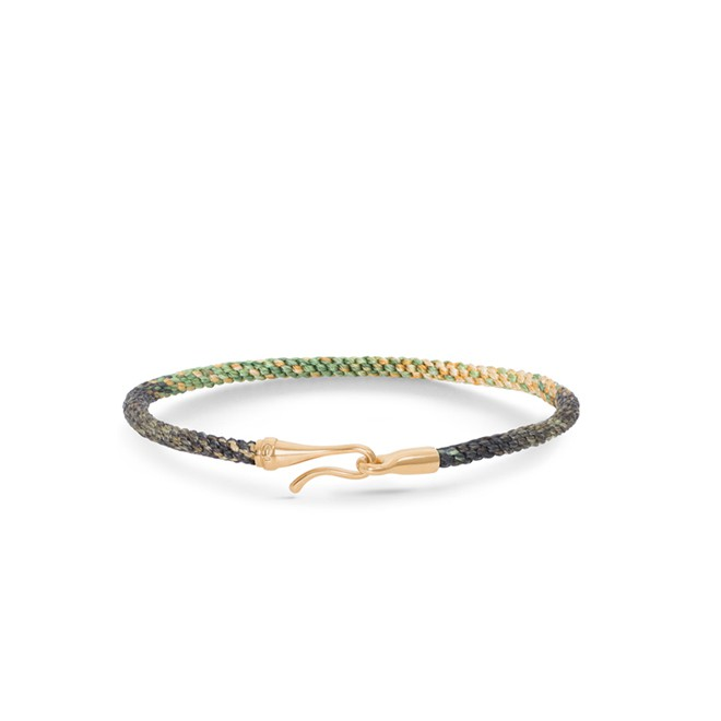 Image of   Ole Lynggaard Life armbånd - safari guld - A3040-405 18 centimeter