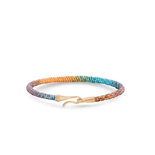 Image of   Ole Lynggaard Life armbånd, Bohemian Spirit - A3040-407 16 centimeter