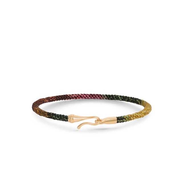 Ole Lynggaard Life armbånd guld - Plum - A3040-410 Plum 20
