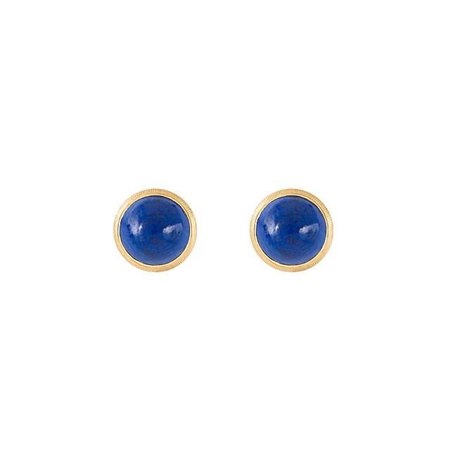 Billede af Ole Lynggaard Lotus ørestikkere, lapis lazuli - A3058-413