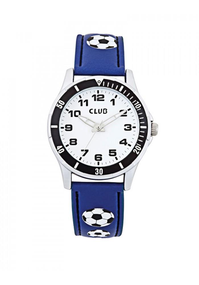 inex Club drenge ur blå med fodbold - a56522-1s0a på brodersen + kobborg