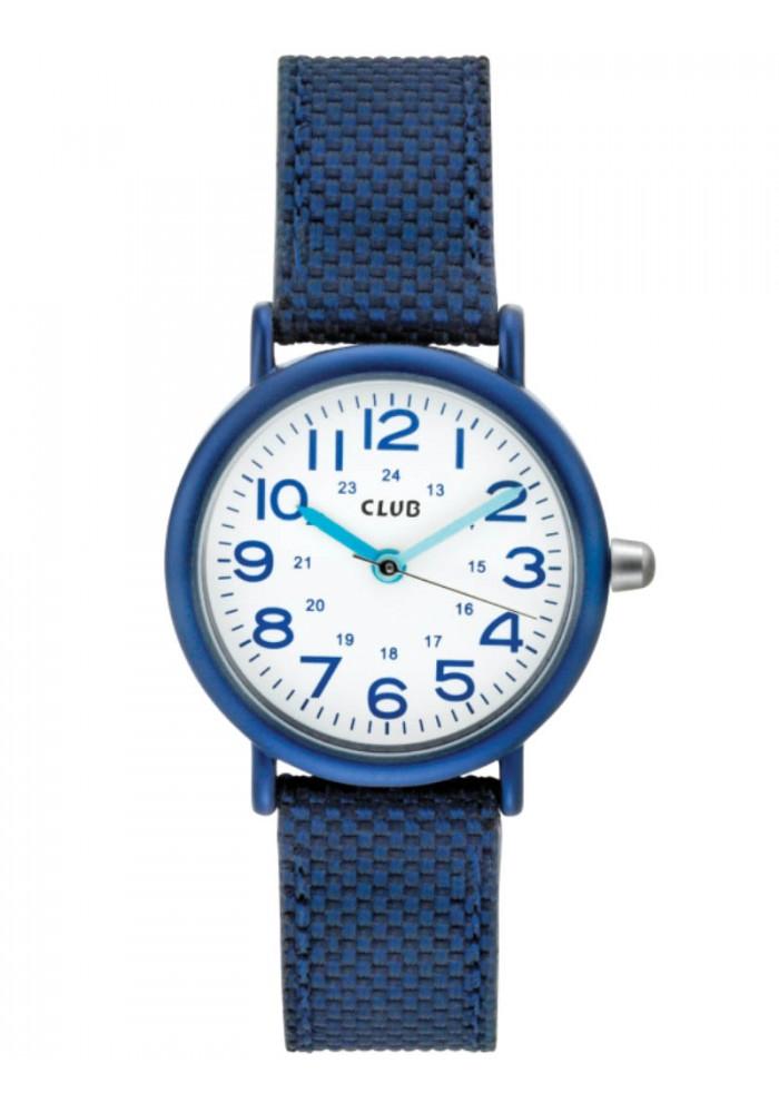 inex – Club pige ur i blå med alu - a56536bl0a fra brodersen + kobborg