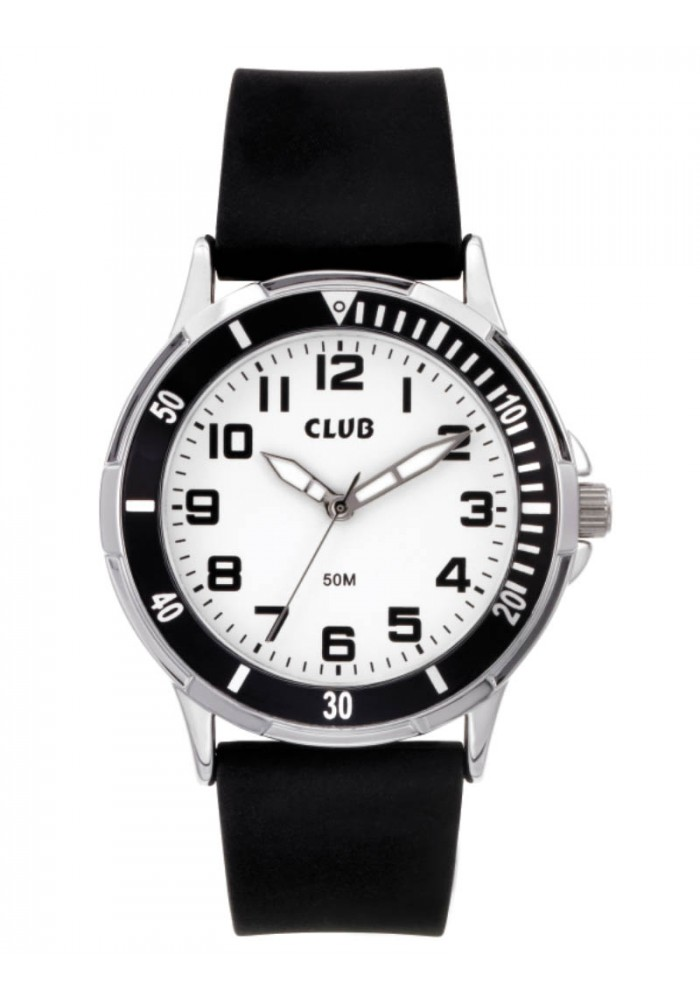 inex – Club drenge ur med sort ring - a65179s0a på brodersen + kobborg