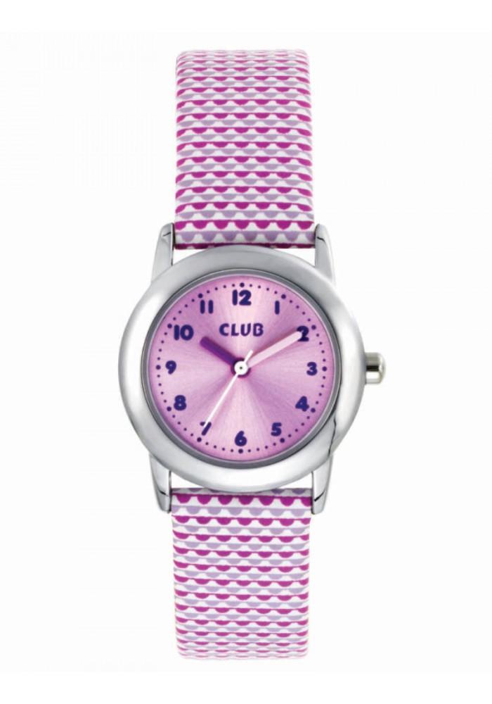 Club pige ur lyserød / pink - a65183-2s10a fra inex fra brodersen + kobborg