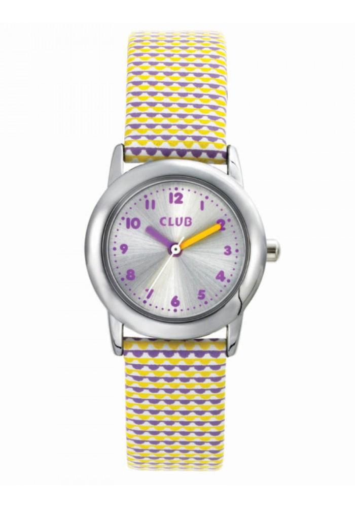 inex Club pige ur med gul rem - a65183-3s4a fra brodersen + kobborg