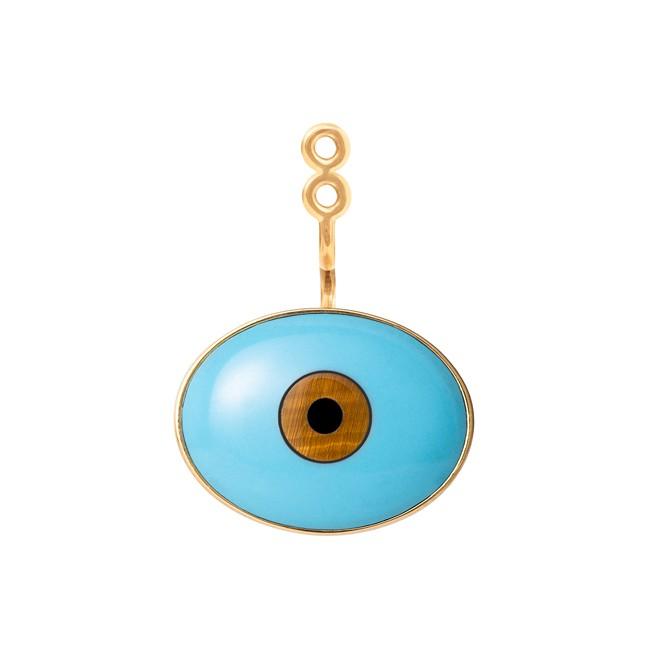 ole lynggaard Ole lynggaard evil eye special edition ørevedhæng - a9996-485 fra brodersen + kobborg