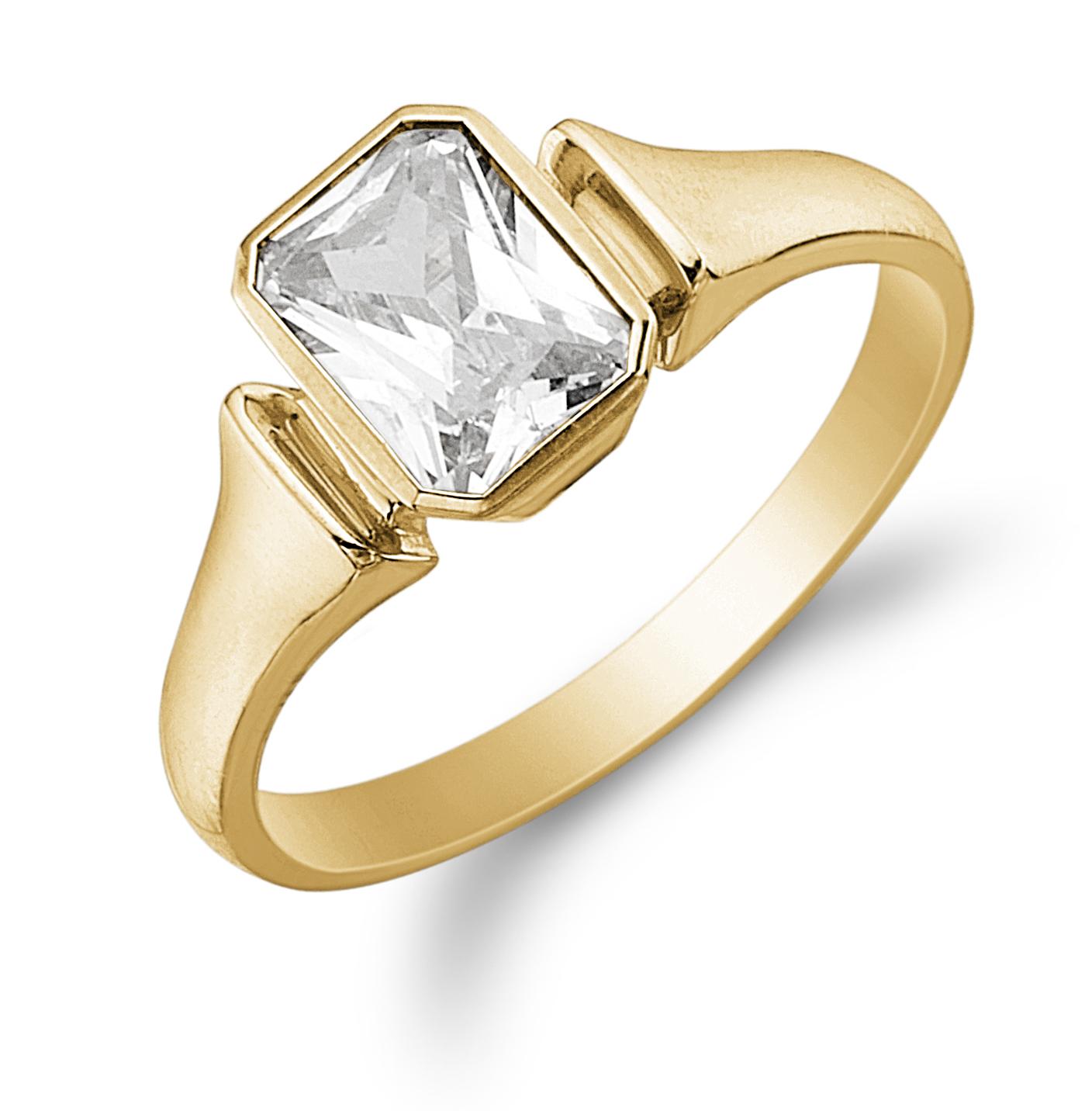 Image of   Aagaard 8 kt ring - 08621282-75 Størrelse 50