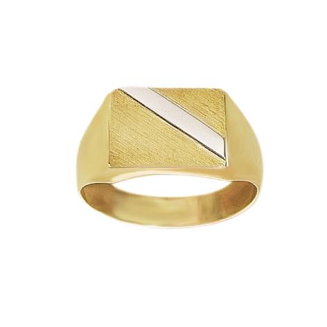 Image of   8 kt Herre ring - 0871336R Størrelse 64