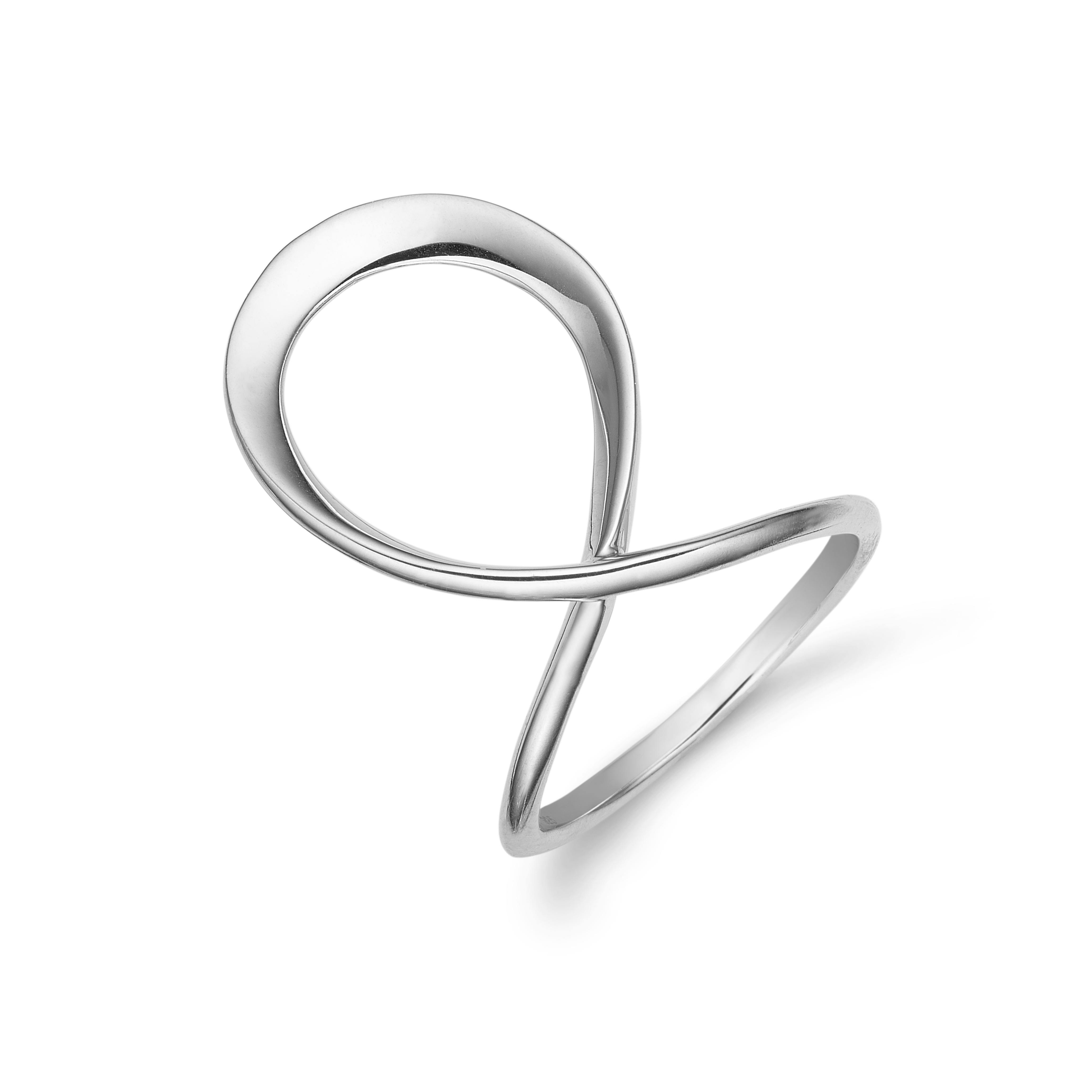 aagaard – Aagaard sølv ring - 11611398 størrelse 50 på brodersen + kobborg