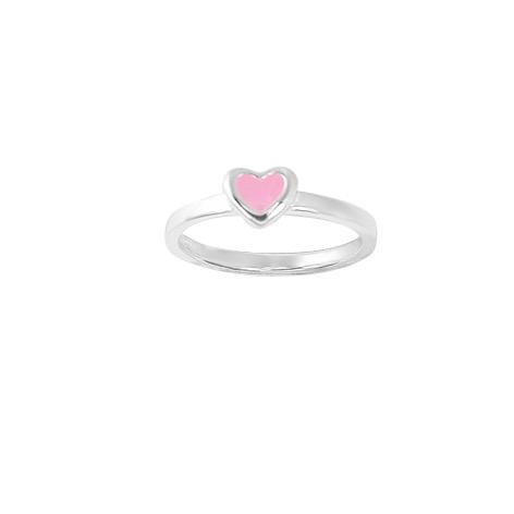 Aagaard sølv ring - hjerte - 11691753 XS/S