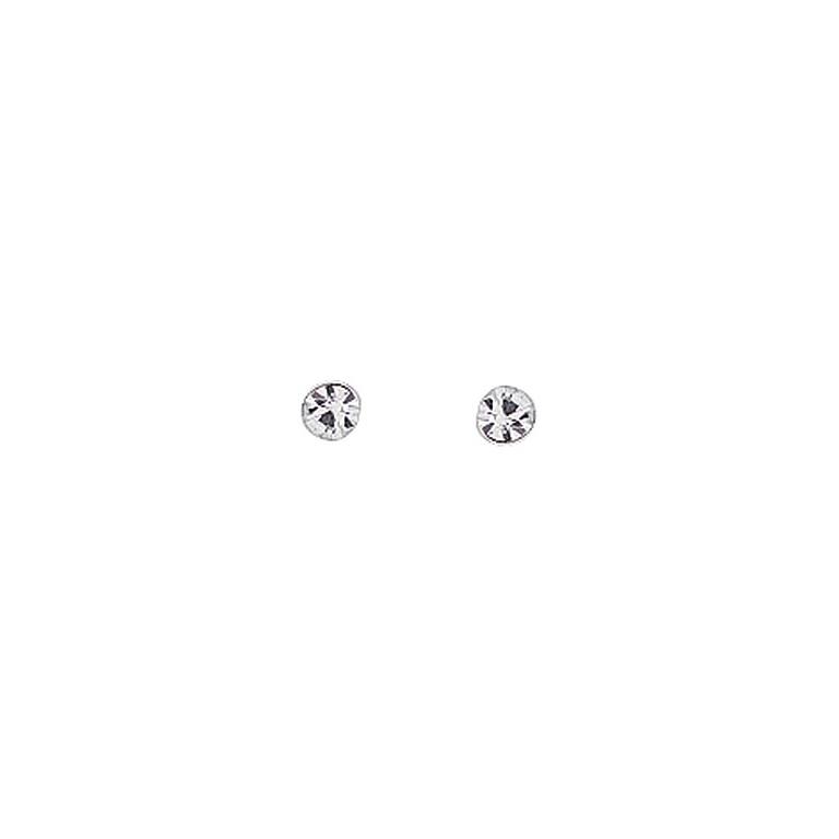 Billede af Aagaard Sølv ørestikker med zirkonia - 1190501-61