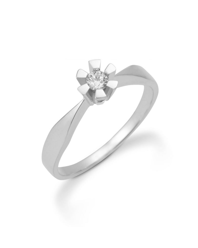Image of   Aagaard 14 kt Eternity ring - 44649905-34 Størrelse 54