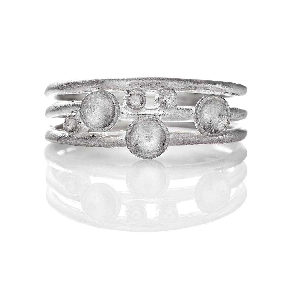 Image of   Anette Wille Nexus ring - ER715 Størrelse 57