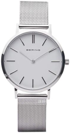 Image of BERING Classic dameur i børstet stål 14134-004