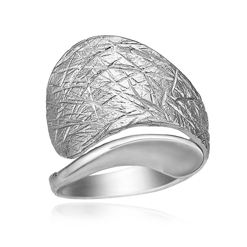 blicher fuglsang Blicher fuglsang sølv ring - 1251-00r størrelse 59 fra brodersen + kobborg