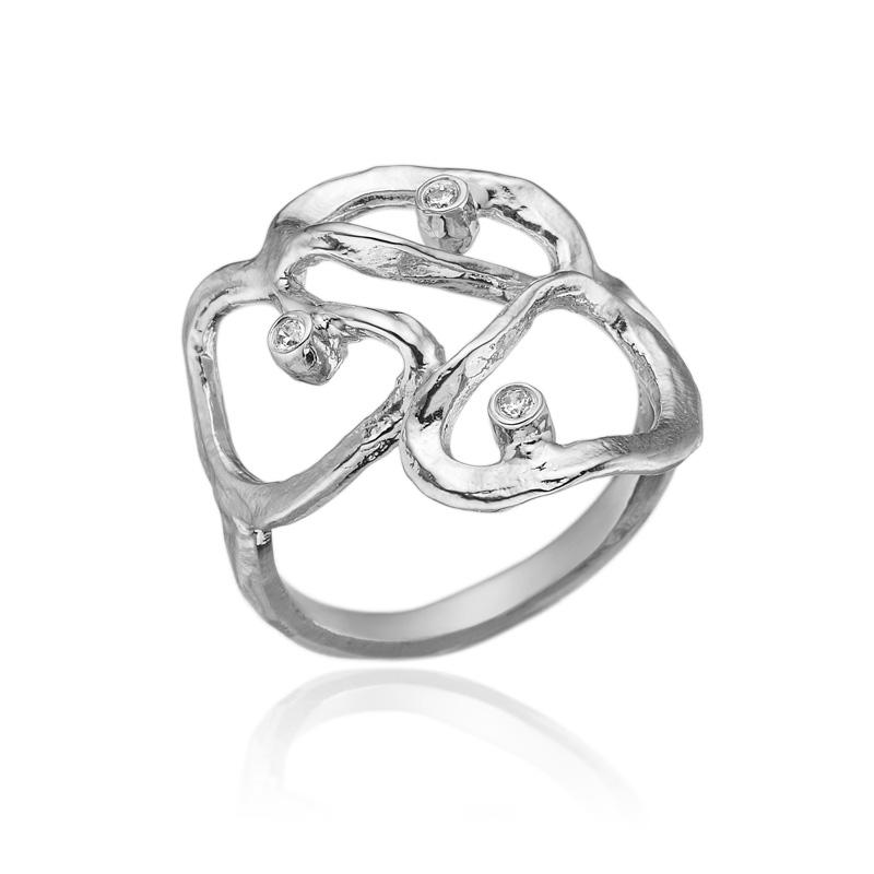 blicher fuglsang Blicher fuglsang sølv ring med zirkonia - 1271-39r størrelse 57 på brodersen + kobborg