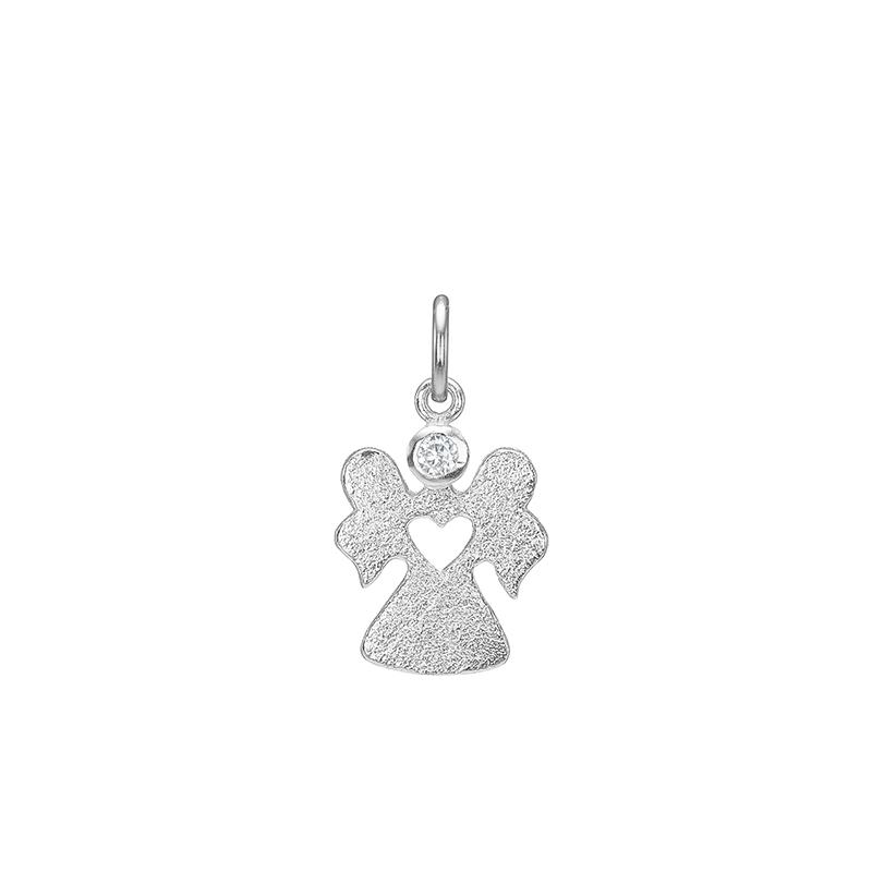 Blicher fuglsang sølv vedhæng engel - 2493-00r fra blicher fuglsang på brodersen + kobborg