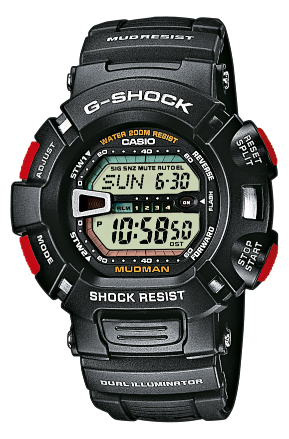 Image of   Casio G-shock - G-9000-1VER