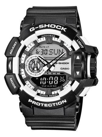 casio – Casio g-shock - ga400-1aer fra brodersen + kobborg