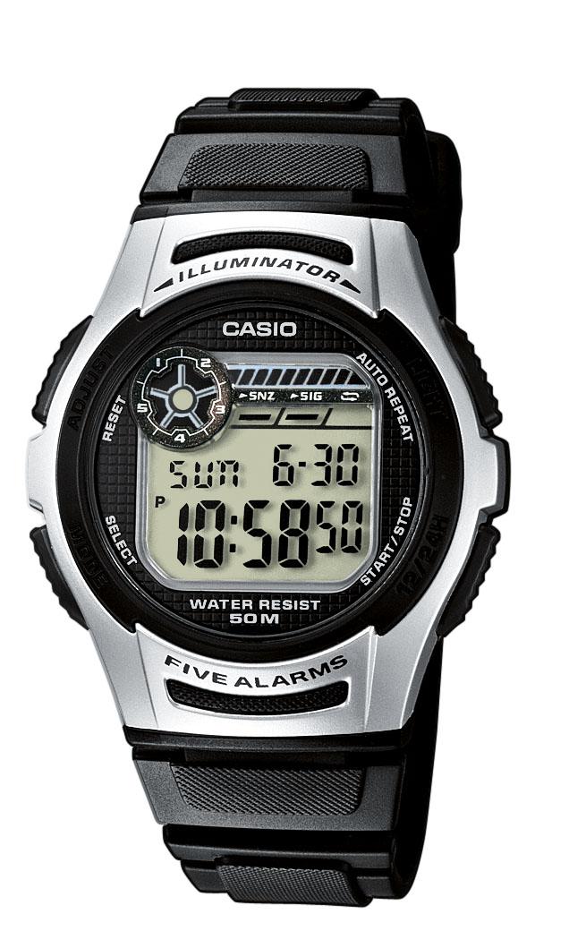 casio – Casio classic - w-213-1aves på brodersen + kobborg
