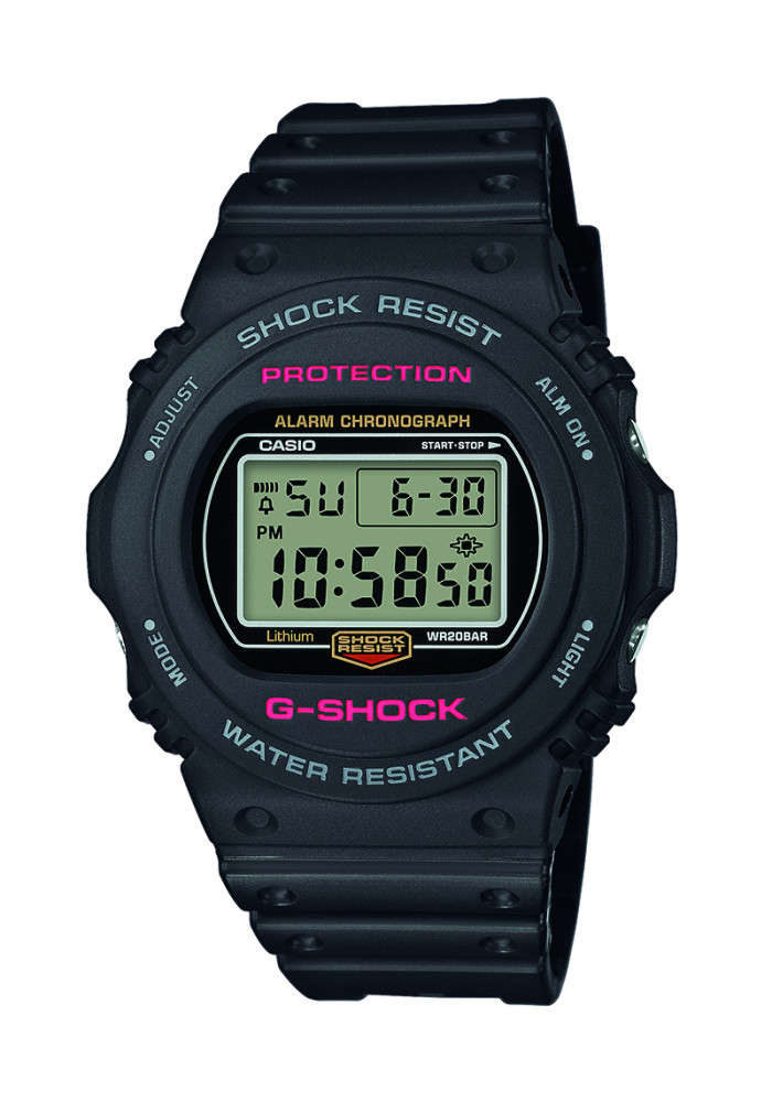 casio Casio g-shock - dw-5750-1er på brodersen + kobborg