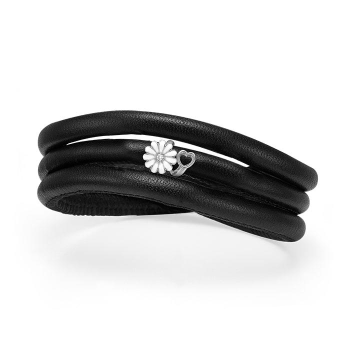 Image of Christina Watches Jule armbånd læder, sølv