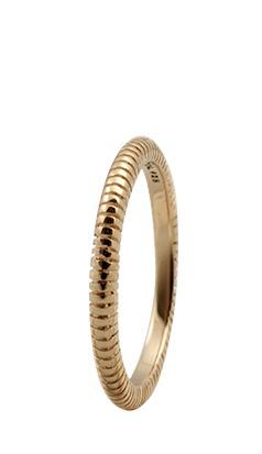 christina watches – Christina forgyldt sølvring lines - 0.4b størrelse 55 fra brodersen + kobborg