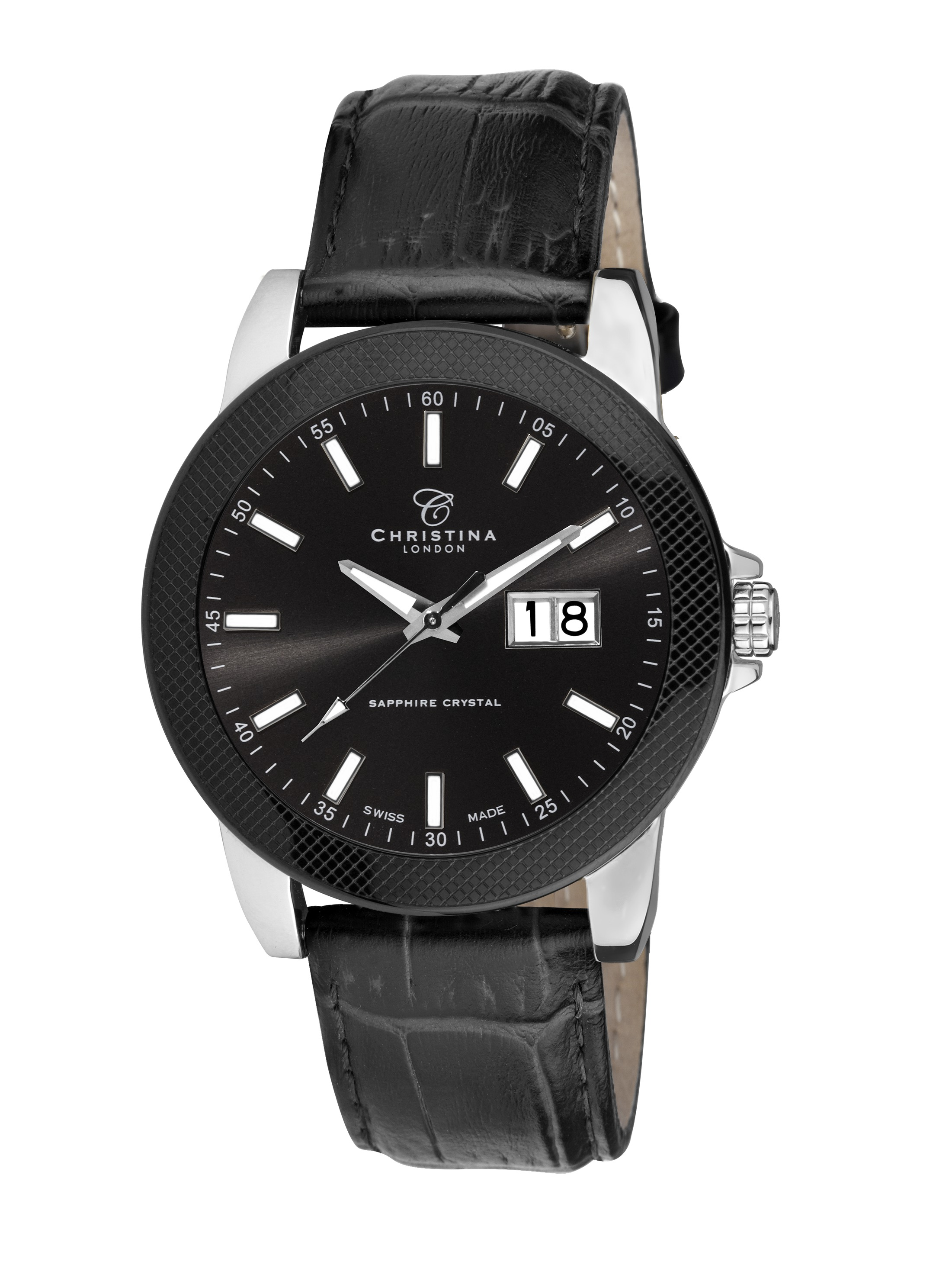 christina watches christina watches - 519sblbl-carbon