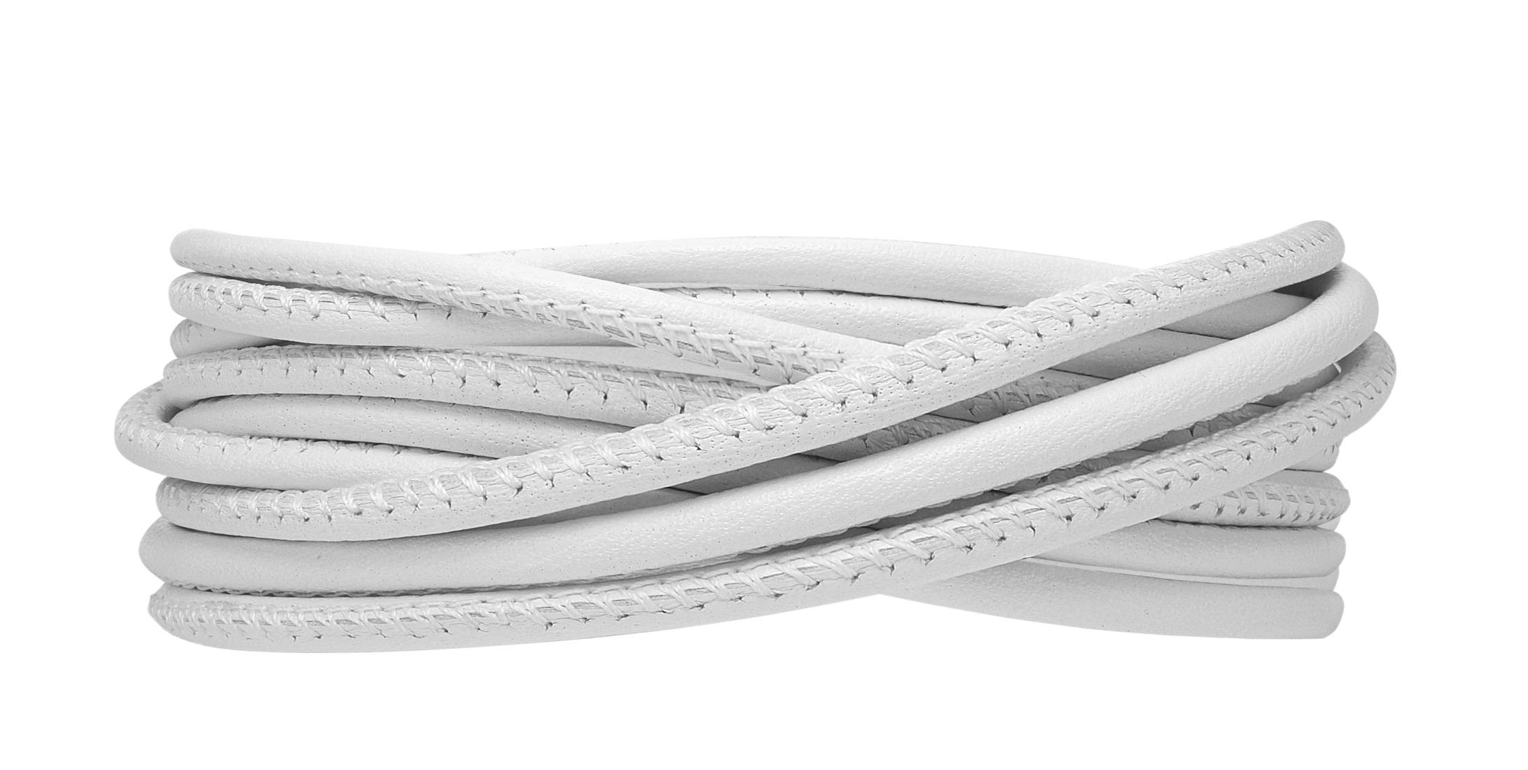 Billede af CHRISTINA Læderarmbånd 3-string - 601-3-70WHITE