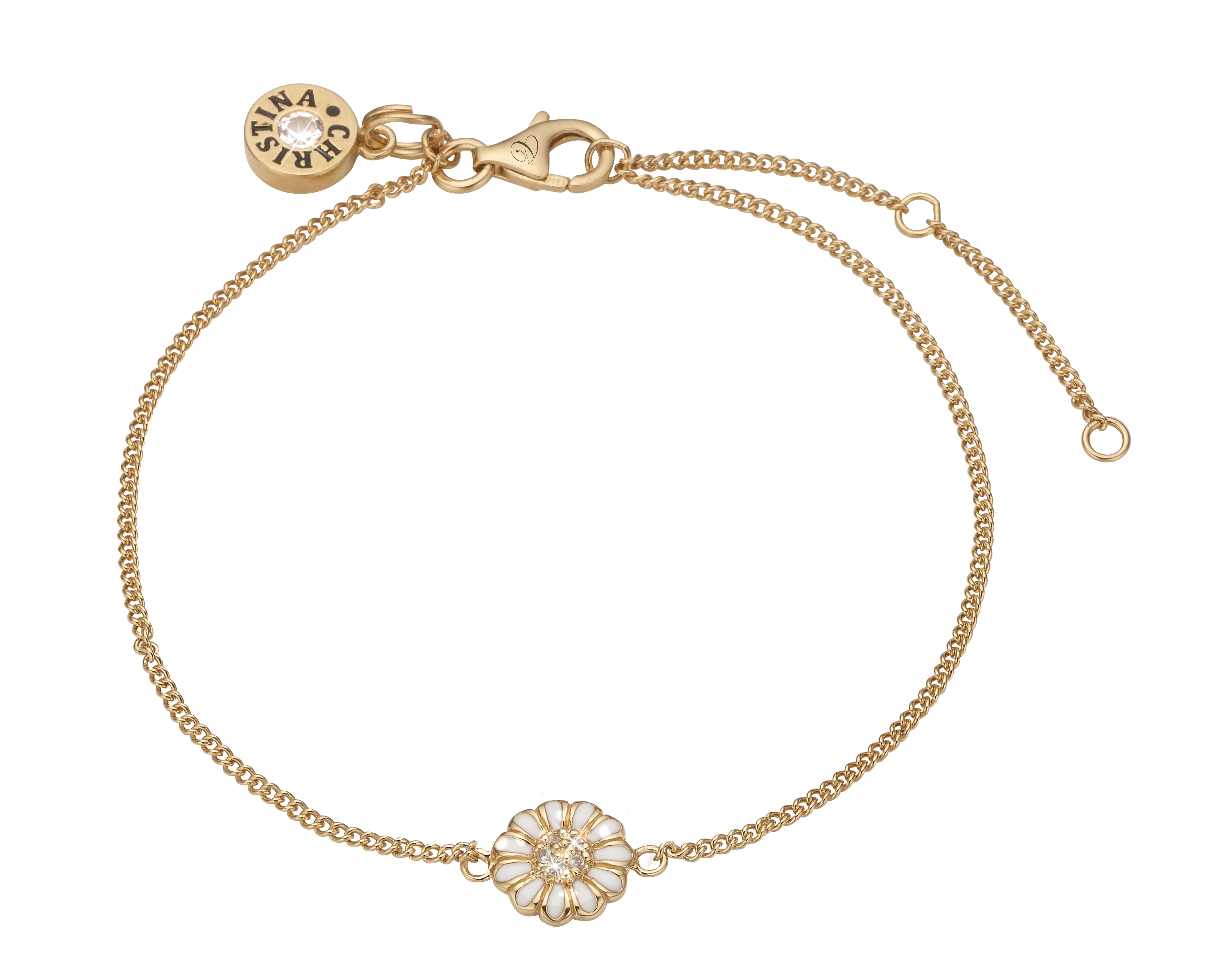 Christina marguerit armbånd - 601-G01 20 centimeter